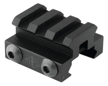 Yankee Hill Machine 3 Slot Picatinny Mini Riser, Black by Yankee Hill Machine Co., Inc.