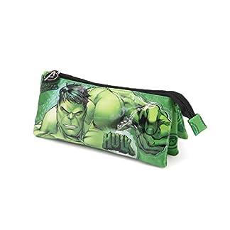 Karactermania Hulk Rage – Estuche Portatodo, Verde, 23.5 cm