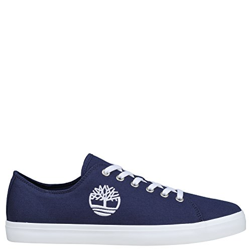 Timberland Newport Bay Canvas, Scarpe Stringate Oxford Uomo Blu (Black Iris Canvas 019)