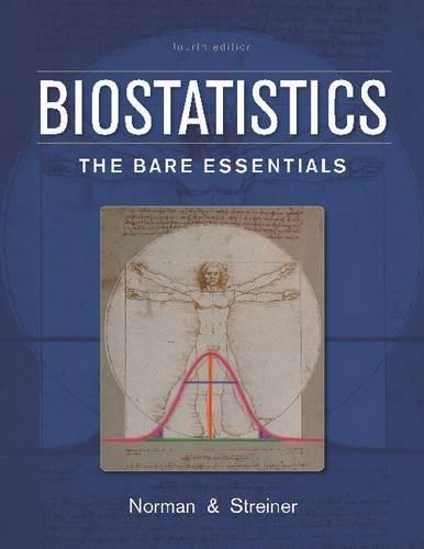 Biostatistics: The Bare Essentials por Geoffrey R. Norman