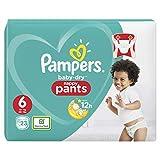 Pampers Baby-Dry Pants/Windeln, Größe 6, mit Luftkanälen, 23 Stück