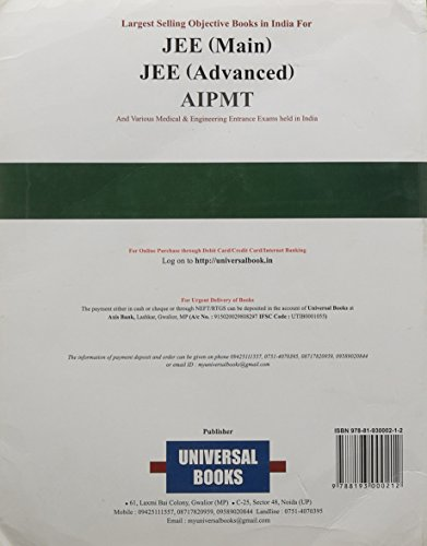 Universal Self-Scorer Errorless Chemistry (Set of 2 Volumes)