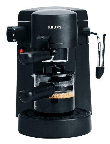 Krups F 872 42 Bravo Plus Espressomaschine schwarz