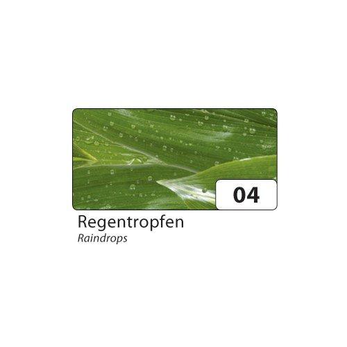 Transparentpapier 115g/m², 23x33cm, 5 Blatt, Modell:Elements 04 Regentropfen (Element-modells)