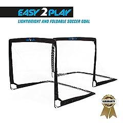 klappbare Fußballtore EASY2PLAY Goal Faltbares