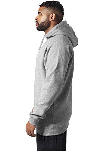 Urban Classics Tall Hoody Grey