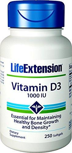 Life Extension, Vitamin D3, 1.000 IE, 250 Weichkapseln