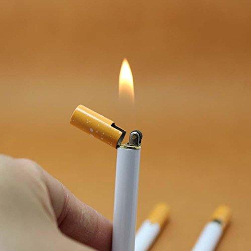 Rouge à lèvres, chocolat et Cigarette Style fantaisie briquets (6 couleurs) (Style de cigarette) *Acheter 2 Get 1 Free*