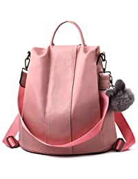 Charmore Mujeres Mochila Señoras Mochila Impermeable Nylon Mochilas escolares Anti-robo Dayback Shoulder Bags
