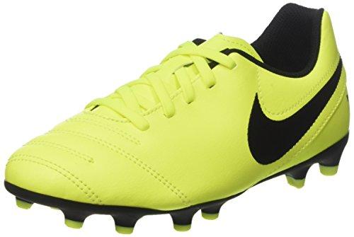 Nike Unisex-Kinder Tiempo Rio Iii Fg Fußballschuhe, Gelb (Vert Volt/black-vert Volt), 34 EU -