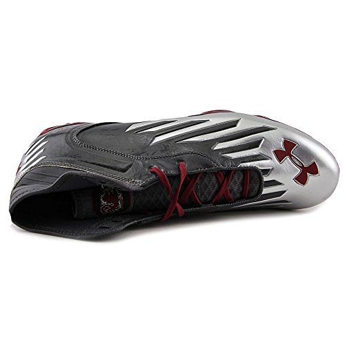 Under Armour TM Nitro IV Mid MC Compfit Synthetik Klampen Stl/Stl/Crd