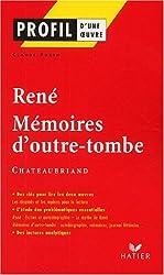 Profil d'une oeuvre : René (1802), Mémoires d'outre-tombe (1848-1850), Chateaubriand