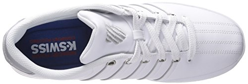K-Swiss Court Pro II Sp Cmf Leder Turnschuhe White/Highrise