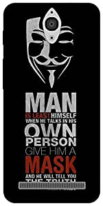 The Racoon Grip Anonymous Quotes hard plastic printed back case for Asus Zenfone C ZC451CG