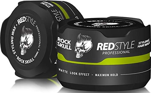 Redstyle Professional Haarwax Styling (Grün Matt Skull)