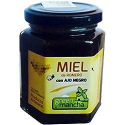 Miel de romero con ajo negro 200 gramos