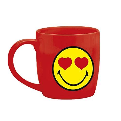 Zak designs 6727-8514 Mug thé Porcelaine Rouge 35 cl