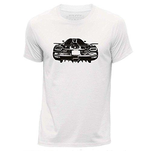 stuff4-herren-mittel-m-weiss-rundhals-t-shirt-schablone-auto-kunst-k-agera