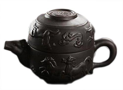 SaySure - Yixing cup pot purple travel tea teapot cup bowl office cup pot cup