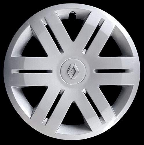 Generico Renault TRAFIC Quattro (4) COPRICERCHIO BORCHIA 5748/6 Diam 16' Logo Cromato dal 1998