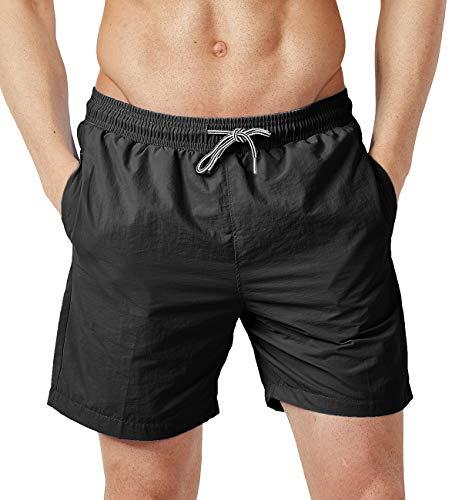 Abbigliament Tempo libero accogliente Motivo floreale Swim-Trunks da uomo traspirante ad asciugatura rapida Surf Swim Trunks Pantaloni da spiaggia traspiranti traspiranti Pantaloni estivi leggeri Pantaloni sportiv