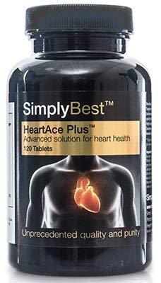 HeartAce Plus - Herz - Geeignet für Veganer - 120 Tabletten - SimplySupplements