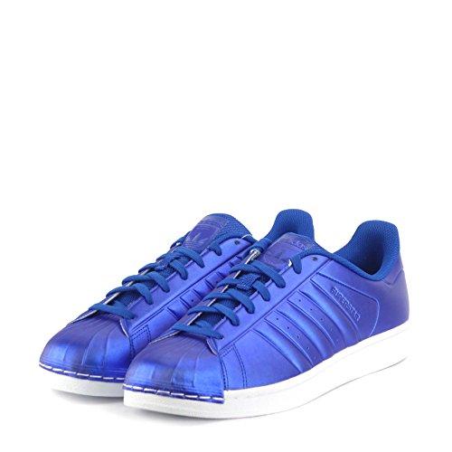 Adidas Superstar Uomo Da Ginnastica Royal blue white BB4876