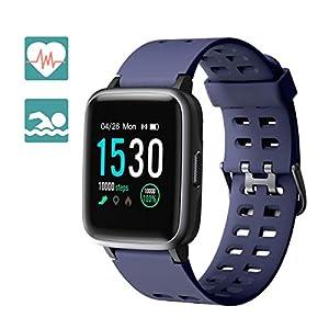 Arbily Fitness Rastreador Smartwatch Pantalla Táctil para Mujeres Hombres