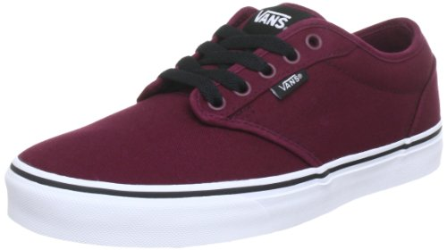 Vans ATWOOD, Low-Top Sneakers, Oxblood/White, 10 UK (44.5 EU)
