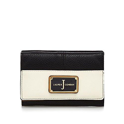 j-by-jasper-conran-womens-black-textured-flap-over-wallet