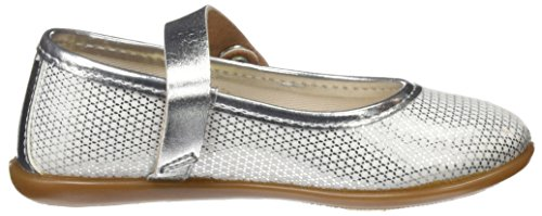 Conguitos Hv126577, Mary Jane Flats fille Argenté