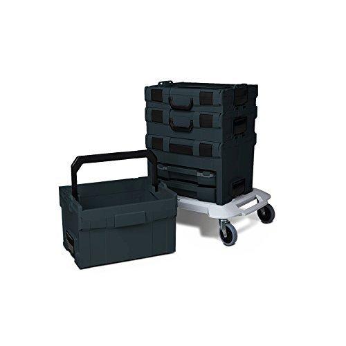 Preisvergleich Produktbild Bosch Sortimo L-Boxx Set anthrazit Starterpaket II / 1 Kg Haribo gratis