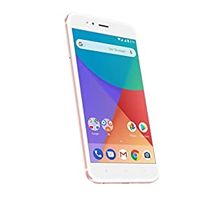 "Xiaomi Mi A1 - Smartphone 5.5 Free"" (4G, WiFi, Bluetooth, Snapdragon 625 2.0 GHz, 64 GB, 4 GB RAM, Android One), Pink gold"