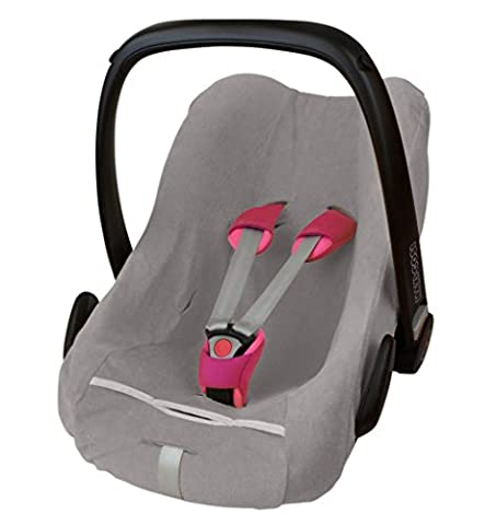 ByBoom® - Summer cover / protective cover - made from terry towelling cloth, universal cover for infant and child car seats eg, Maxi-Cosi Cabrio Fix, Pebble, City SPS,