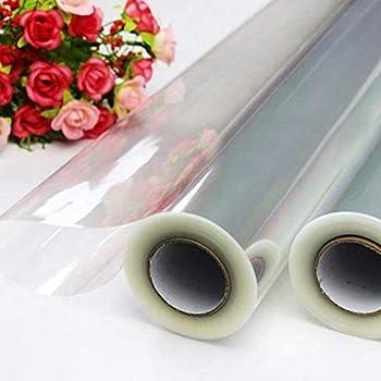80cm Wide Clear Cellophane Florist Film Roll Craft Gift Wrap Acetate Celophane