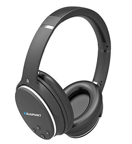 Blaupunkt BLP4400 - Casque Audio Bluetooth, Noir