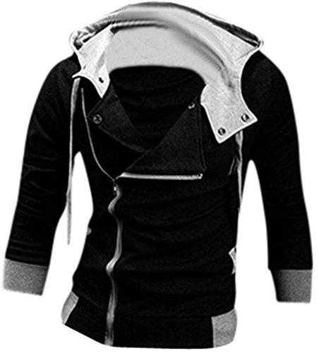 jeansian-Casuale-Sport-Uomo-Inverno-Moda-Giacca-Uomini-Tendenza-Cappotto-Design-Sottile-Capispalla-8945-Black-L