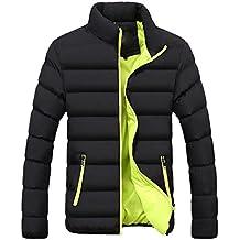 Abrigo para Hombre Invierno ♚Btruely Herren Chaqueta Caliente cálido Slim Fit Abrigo Gruesa Capa de