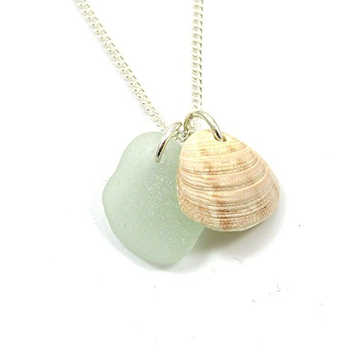 sea-glass-and-seashell-necklace-s127