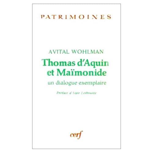 Thomas d'Aquin et Maïmonide : Un Dialogue exemplaire