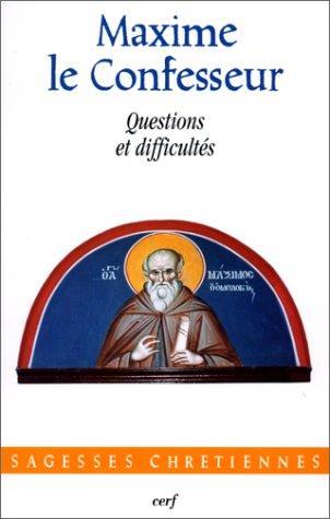 Questions et difficultés