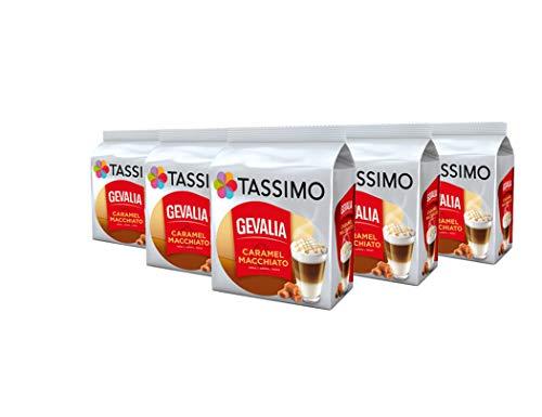 e Macchiato Caramel Kaffee Kapseln Pods 5er Pack, 40 Getränke ()