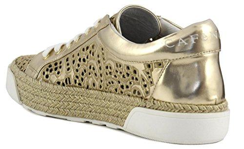 Sneaker donna Cafè Noir EH925 platino Platino