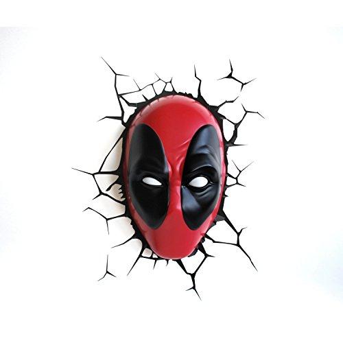 Marvel Deadpool Maske 3D (Deadpool Masken)