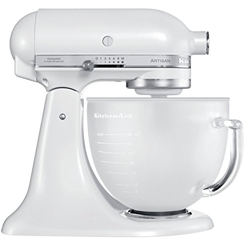 KitchenAid-5KSM156EFP-Robot-Multifonction-300-watts-Blanc