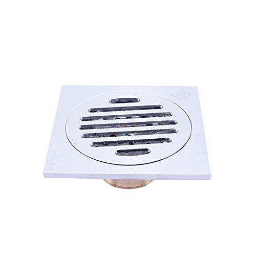 ZREAL Drain de Plancher Douche de salle de bains Siphon de Sol pour arrêt d'odeur et système de douche de gouttière de système de douche de drain de plancher -