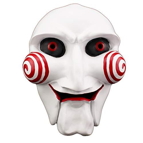 Yxsd Halloween Horror Maske Tanzparty Männer Killer Teufel Make-up Harz ()