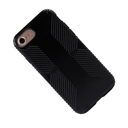 Cover per iPhone 7, Tpulling Custodia per iPhone 7 Case Cover Custodia protettiva dura di ShockProof ibrida per IPhone 7 4.7 pollici (black) black