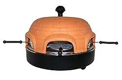 Pizza Heimofen, Pizzadom für 6 Personen, Pizzaofen, mehrteiliges Komplettset, Pizza at Home, Zuhause Kochen und Backen
