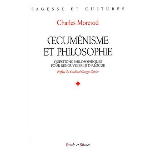 Oecuménisme et philosophie